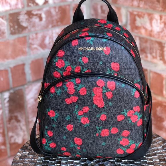 974626fa4535 Michael kors Abbey medium backpack floral. NWT